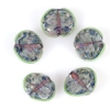 Lamp Bead Seashell 5Pc 22x18mm Water Lilys